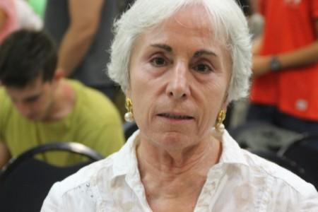 Ana María Torrijos Hernández, licenciada en Filología Clásica. Foto Joseph Azanméné N./lasvocesdelpueblo