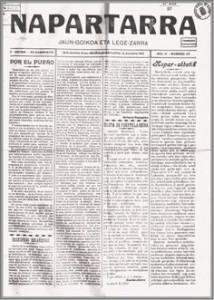 Napartarra -semanario editado por el PNV de 1911 a 1918