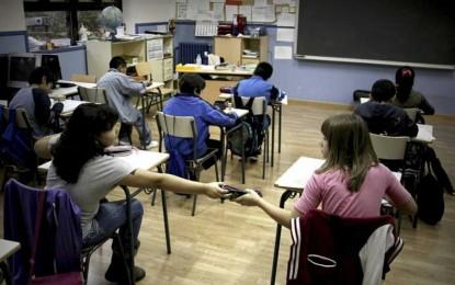 España es uno de los paises de UE que más invierte en enseñanza y tiene un panorama tan desolador